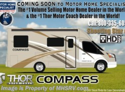 New 2017  Thor Motor Coach Compass 24TX Diesel Sprinter RV for Sale at MHSRV Ext TV by Thor Motor Coach from Motor Home Specialist in Alvarado, TX