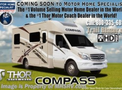 New 2017  Thor Motor Coach Compass 23TR Diesel RV for Sale at MHSRV W/ Slide, Ext TV by Thor Motor Coach from Motor Home Specialist in Alvarado, TX