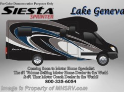 New 2017  Thor Motor Coach Four Winds Siesta Sprinter 24ST Diesel RV for Sale W/Ext. TV, Dsl. Gen by Thor Motor Coach from Motor Home Specialist in Alvarado, TX