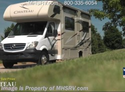 New 2017  Thor Motor Coach Chateau Sprinter 24FS Diesel RV for Sale at MHSRV W/ Diesel Gen by Thor Motor Coach from Motor Home Specialist in Alvarado, TX