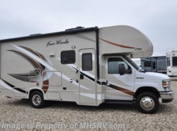 New 2017  Thor Motor Coach Four Winds 24F RV for Sale at MHSRV W/15K A/C, 3 Cam & Slide by Thor Motor Coach from Motor Home Specialist in Alvarado, TX