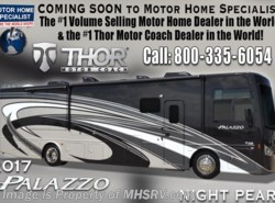 New 2017  Thor Motor Coach Palazzo 33.2 Diesel Pusher RV for Sale @ MHSRV.com by Thor Motor Coach from Motor Home Specialist in Alvarado, TX