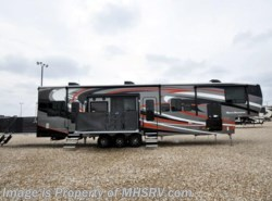 New 2017  Heartland RV Road Warrior RW427 Full Paint, Dual Pane, 3 A/Cs, Arctic, 5 TVs by Heartland RV from Motor Home Specialist in Alvarado, TX