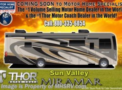 New 2018  Thor Motor Coach Miramar 35.3 Bath & 1/2 RV for Sale W/Dual Pane & King by Thor Motor Coach from Motor Home Specialist in Alvarado, TX