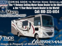 New 2018 Thor Motor Coach Hurricane 34P Coach for Sale at MHSRV W/King Bed & Dual Sink available in Alvarado, Texas