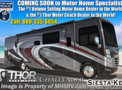 New 2019 Thor Motor Coach Challenger 37TB Bath & 1/2 Bunk Model RV for Sale at MHSRV available in Alvarado, Texas