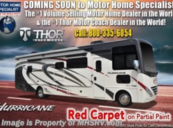 New 2019 Thor Motor Coach Hurricane 34J Bunk Model RV for Sale W/King available in Alvarado, Texas