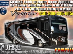 New 2019 Thor Motor Coach Venetian J40 Bath & 1/2 Luxury RV for Sale W/Theater Seats available in Alvarado, Texas