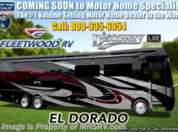 New 2019 Fleetwood Discovery LXE 44H Bath & 1/2 W/Theater Steats, Tech Pkg, King available in Alvarado, Texas