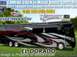 New 2019 Fleetwood Discovery LXE 44B Bath & 1/2 Bunk Model W/Theater Seats available in Alvarado, Texas