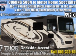 New 2019 Thor Motor Coach Windsport 35M Bath & 1/2 Class A RV W/ Res Fridge available in Alvarado, Texas