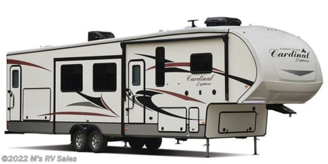2019 Forest River Cardinal Explorer 304SR W/ KING BED