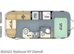 New 2017  Airstream  Airstream International Signature 25FB by Airstream from National RV Detroit in Belleville, MI