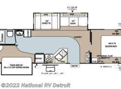 Used 2005  Forest River Rockwood Signature Ultra Lite 8318SS by Forest River from National RV Detroit in Belleville, MI