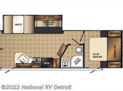 New 2017  Palomino Solaire Ultra Lite 280RLSS by Palomino from National RV Detroit in Belleville, MI
