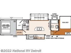 New 2017  Forest River XLR Thunderbolt 415AMP by Forest River from National RV Detroit in Belleville, MI