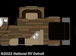 New 2017  Cruiser RV Fun Finder Xtreme Lite 21RB by Cruiser RV from National RV Detroit in Belleville, MI