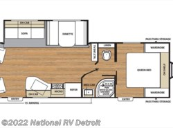 New 2017  Coachmen Catalina SBX 251RLS by Coachmen from National RV Detroit in Belleville, MI