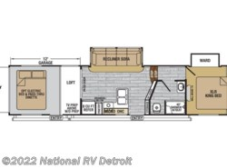 New 2017  Forest River XLR Nitro 35VL5 by Forest River from National RV Detroit in Belleville, MI