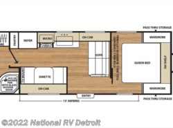 New 2017  Coachmen Catalina SBX 231RB by Coachmen from National RV Detroit in Belleville, MI