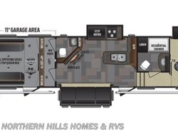 New 2017  Keystone Fuzion 371 by Keystone from Northern Hills Homes and RV's in Whitewood, SD