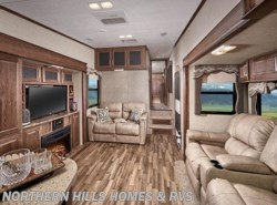 New 2017  Keystone Cougar 341RKI by Keystone from Northern Hills Homes and RV's in Whitewood, SD