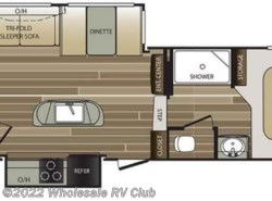 New 2017  Keystone Cougar X-Lite 28DBI by Keystone from Wholesale RV Club in Ohio