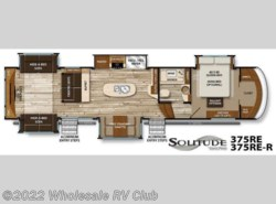 New 2016  Grand Design Solitude 375RE by Grand Design from Wholesale RV Club in Ohio