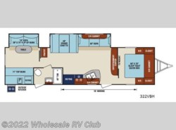New 2017  Venture RV SportTrek 322VBH by Venture RV from Wholesale RV Club in Ohio