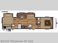 New 2017  Keystone Hideout 308BHDS by Keystone from Wholesale RV Club in Ohio