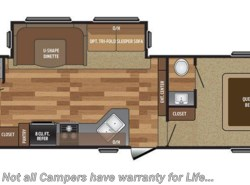 New 2017  Keystone Hideout 281BDS by Keystone from COLUMBUS CAMPER & MARINE CENTER in Columbus, GA
