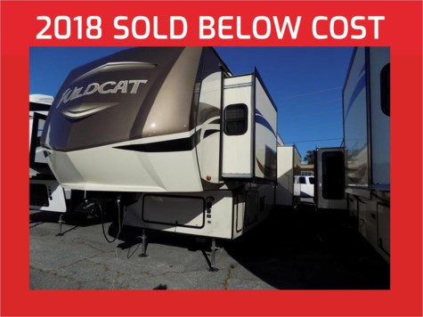 2018 Forest River Wildcat 30GT