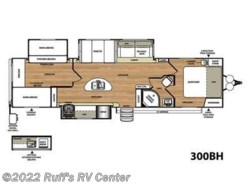 Used 2015  Forest River  Heritage Glen 300BH by Forest River from Ruff's RV Center in Euclid, OH