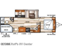 New 2017  Forest River Wildwood 27DBK by Forest River from Ruff's RV Center in Euclid, OH