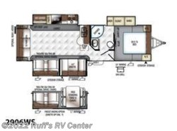 New 2017  Forest River Rockwood Ultra Lite Travel Trailers 2906WS by Forest River from Ruff's RV Center in Euclid, OH