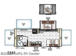 New 2017  Forest River Rockwood Roo 233S by Forest River from Ruff's RV Center in Euclid, OH