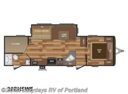 New 2018 Keystone Hideout 28BHSWE available in Milwaukie, Oregon