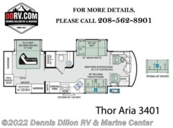 New 2018 Thor Motor Coach Aria 3401 available in Boise, Idaho