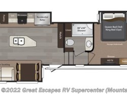 New 2017  Keystone Montana High Country 353RL by Keystone from Great Escapes RV Center in Gassville, AR