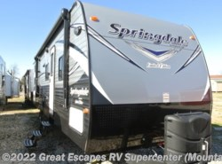 New 2017  Keystone Springdale 270LE by Keystone from Great Escapes RV Center in Gassville, AR