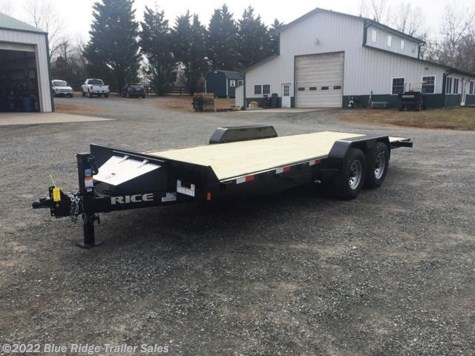 2019 Rice Trailers Magnum 18' 7K Car Tilt