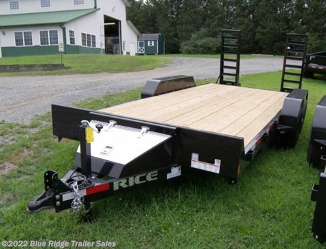 2019 Rice Trailers 10K 16+2 Equipment Hauler