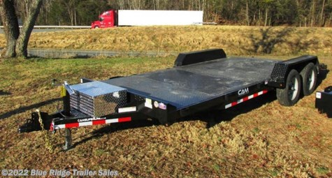 2019 CAM Superline 8K Car Hauler 14+4 Steel Deck Removable Fender