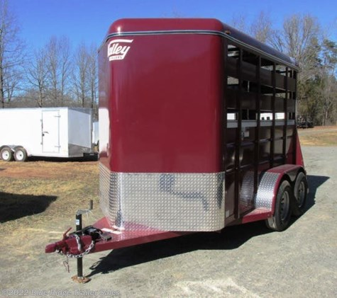 2020 Valley Trailers 12' 2H BP no Dress 7'6