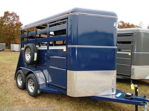 2020 Valley Trailers 7'x6' Stock with Single Rear Door and Slider