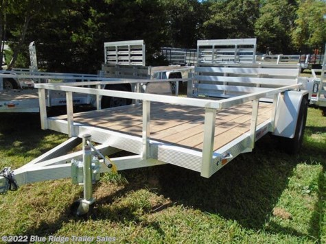 2020 Sport Haven AUT 6x10  Wood Deck Open Side w/Bi Fold Gate