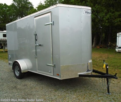 2020 Haulmark Passport 6x12 SA, Rear Double Doors, 6'6