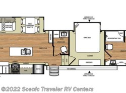 New 2016  Forest River Salem Hemisphere Lite 386FBK by Forest River from Scenic Traveler RV Centers in Slinger, WI