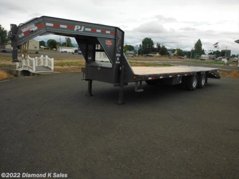 2019 PJ Trailers Flatdeck LDR25-25K Power Tail