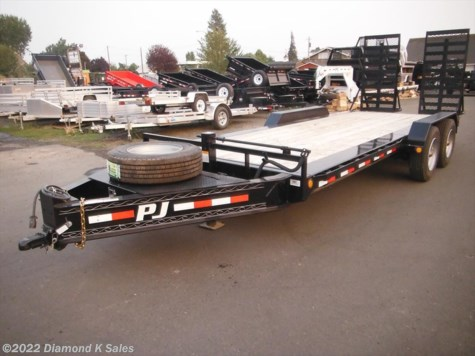 2019 PJ Trailers Flatdeck H520 Pro-Beam Equipment